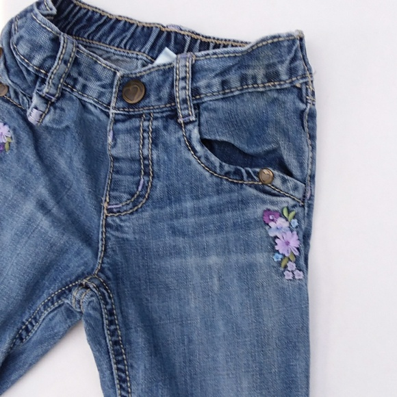 da11f23be8394 Gymboree Bottoms | Baby Girl Jeans With Embroidery | Poshmark